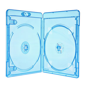 Amaray Blu-Ray-Hülle 11 mm Face on Face für 2 Disc