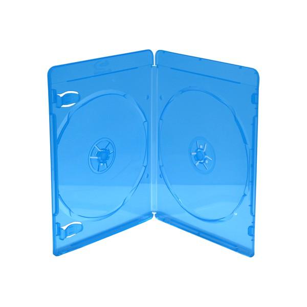 Blu Ray Hüllen Slim für 2 Disc 170x135x7 mm