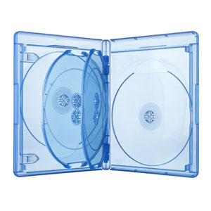 Elite-VIVA Blu-Ray-Hülle 15 mm 6-Fach mit 2 Einleger