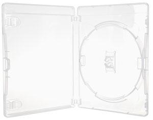 Blu-Ray-Hülle 11 mm Schwarz für 2 Disc
