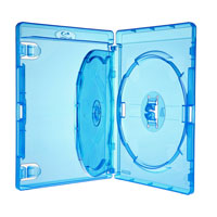 Amaray Blu-Ray-Hülle 14 mm für 2 Disc mit Einleger