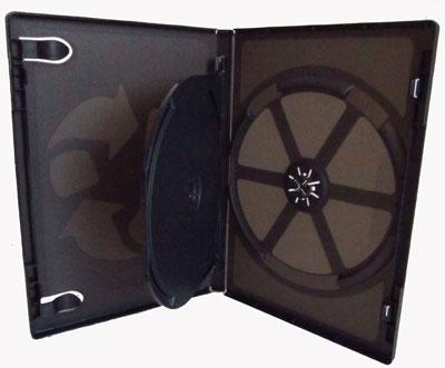 VIVA Elite Hüllen Schwarz für 2 Disc mit Einleger