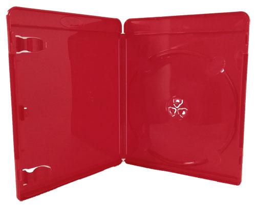 Blu-Ray-Hülle 11 mm Rot  für 1 Disc